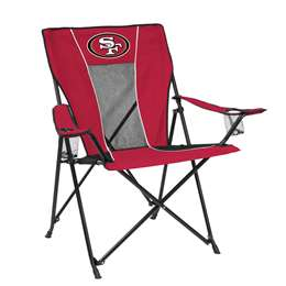 San Francisco 49ers Gametime Folding Chair with Carry Bag