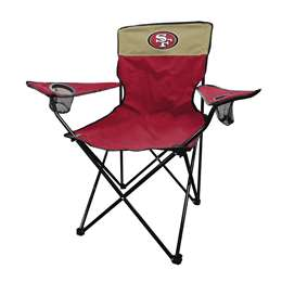 San Francisco 49ers Legacy Folding Chair with Carry Bag