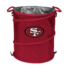 San Francisco 49ers  Collapsible 3-IN-1 Cooler Hamper Trash Can