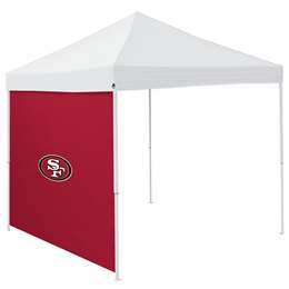 San Francisco 49ers  Side Wall for 9 X 9 Canopy