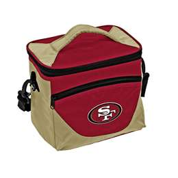 San Francisco 49ers Halftime Lunch Bag 9 Can Cooler