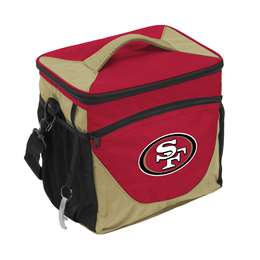 San Francisco 49ers 24 Can Cooler