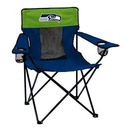 Seattle Seahawks Elite Folding Chair with Carry Bag
