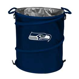 Seattle Seahawks  Collapsible 3-IN-1 Cooler Hamper Trash Can
