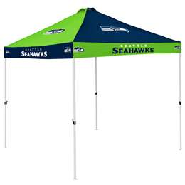 Seattle Seahawks 9 X 9 Checkerboard Canopy - Tailgate Tent