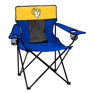 Los Angeles Rams Navy/White Elite Chair