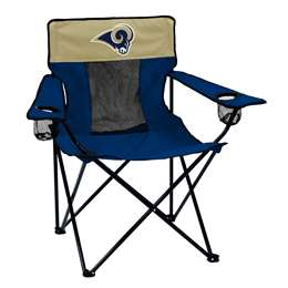 Los Angeles Rams Elite Folding Chair with Carry Bag