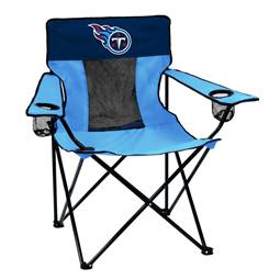 Tennessee Titans Elite Folding Chair with Carry Bag
