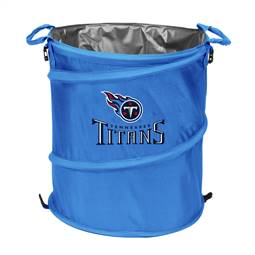 Tennessee Titans  Collapsible 3-IN-1 Cooler Hamper Trash Can
