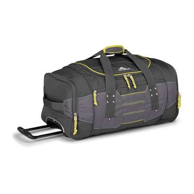 High Sierra WHEELED DUFFEL 26 MERCURY/CHARCOAL/YELL-O