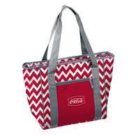 Coca-Cola Chevron 30 Can Cooler Tote Bag Pack