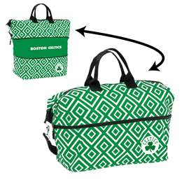 Boston Celtics Double Diamond Expandable Tote
