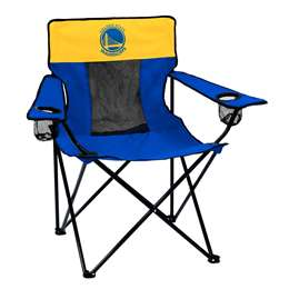 Golden State Warriors Elite Folding Chair with Carry Bag
