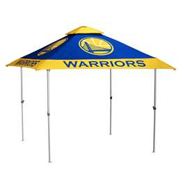 Golden State Warriors 10 X 10 Pagoda Canopy Tailgate Tent