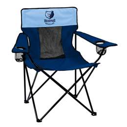 Memphis Grizzlies Deluxe Elite Chair Folding Tailgate Camping Chairs