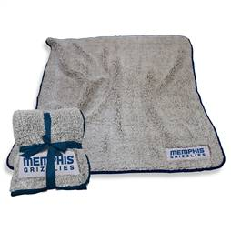 "Memphis Grizzlies Frosty Fleece Blanket 60"" X 50"""