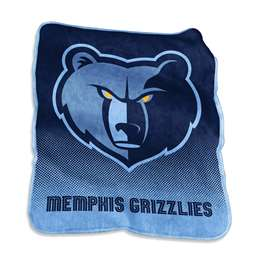 Memphis Grizzlies Raschel Throw Fleece Blanket