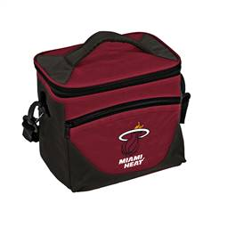 Miami Heat Halftime Lunch Pail Cooler Box