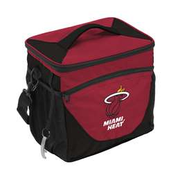 Miami Heat 24 Can Cooler