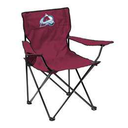 Colorado Avalanche Quad Folding Chair with Carry Bag