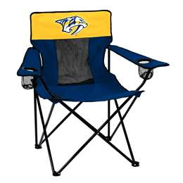 Nashville Predators Elite Folding Chair with Carry Bag