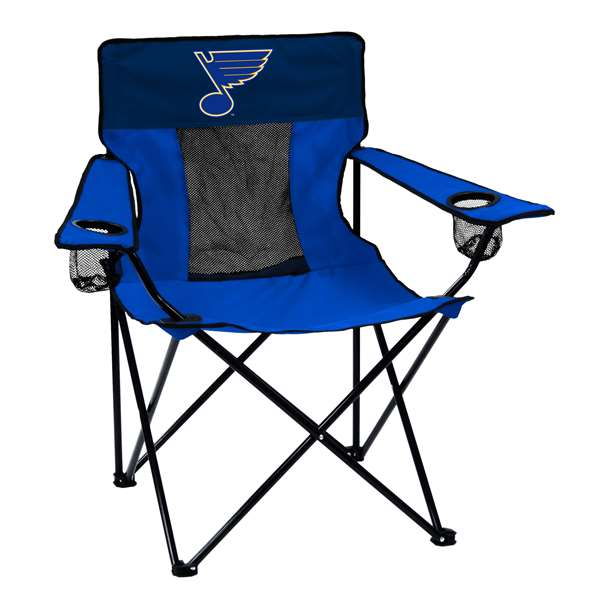 St. Louis Blues Elite Folding Chair with Carry Bag