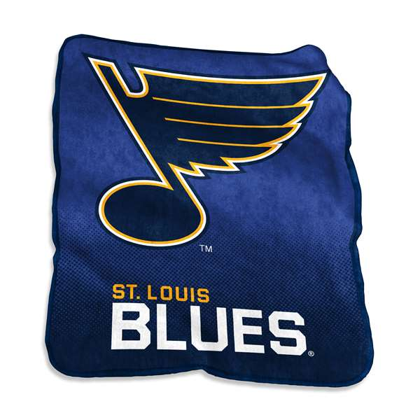 St. Louis Blues Raschel Throw Blanket - 50 X 60 in.