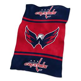 Washington Capitals UltraSoft Blanket - 84 X 54 in.