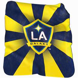 Los Angeles Galaxy 26 Raschel Throw Fleece Blanket