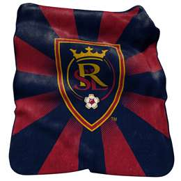 Real Salt Lake Raschel Throw Fleece Blanket