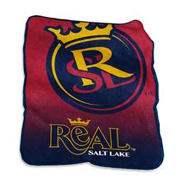 Real Salt Lake Raschel Throw