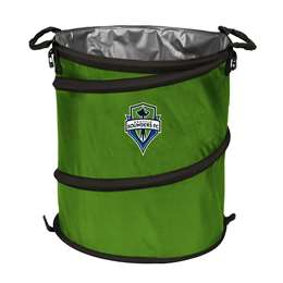 Seattle Sounders  3 in 1 Cooler, Trash Can, Hamper