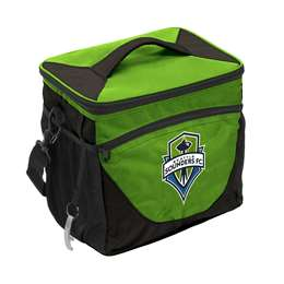 Seattle Sounders 24 Can Cooler