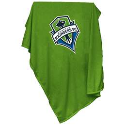 Seattle Sounders Sweatshirt Blanket 84 x 314