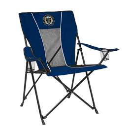Philadelphia Union Game Time Chair Folding Big Boy Tailgate Chairs