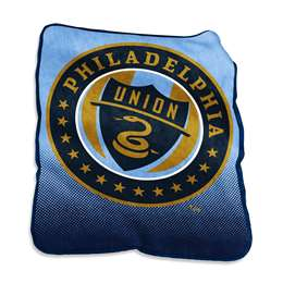 Philadelphia Union  26A Raschel Throw Fleece Blanket
