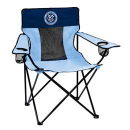 New York City Futbol Club Deluxe Elite Chair Folding Tailgate Camping Chairs