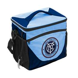 NYC New York City Futbol Club 24 Can Cooler