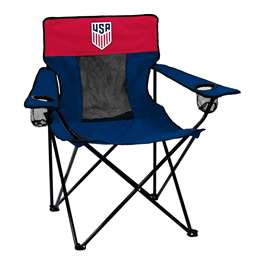 United States Soccer Federation Deluxe Elite Chair Folding Tailgate Camping Chairs