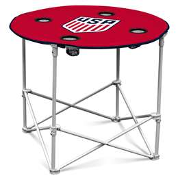 USSF United States Soccer Federation  Round Table Folding Tailgate Camping