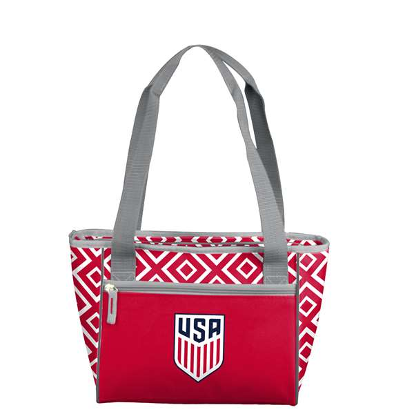 USSF United States Soccer Federation 16 can Double Diamond Cooler Totel