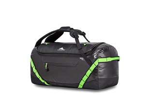 High Sierra 24 inch Duffel Bag BLACK/LIME GREEN
