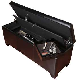 American Furniture Classics 905 5 Gun Metal Cabinet