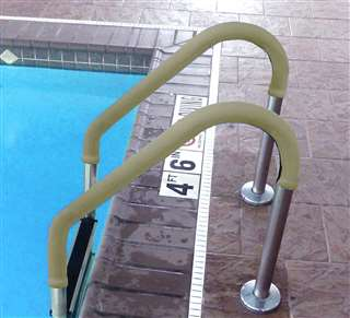 Blue Wave 4-ft Grip for Pool Handrails - Tan Swimming Pool
