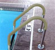 Blue Wave 8-ft Grip for Pool Handrails - Tan Swimming Pool