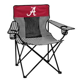 University of Alabama Houndstooth Deluxe Elite Chair Folding Tailgate Camping Chairs