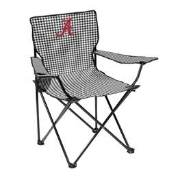 University of Louisiana Lafayette Raginn Cagin Chair Adult Quad Folding Chair