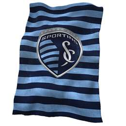 Sporting Kansas City Ultrasoft Plush Blanket 84 X 54 Inches