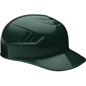 Rawlings Coolflo Base Coach Helmet Dark Green size 7 5/8  CFPBH-DG-758