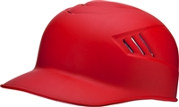 Rawlings Catchers and Base Coach Helmets Matte Scarlet L (7 3/8 - 7 1/2) CFPBHM-MS-90